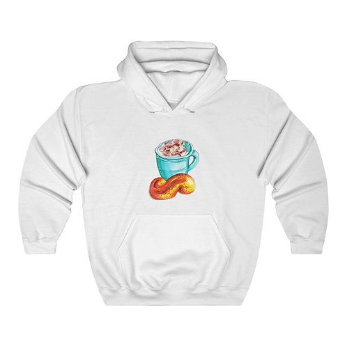 Latte, Unisex Heavy Blend™ Hooded Sweatshirt