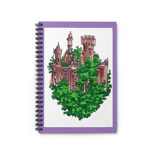 Castle, Spiral Notebook - Ruled Line