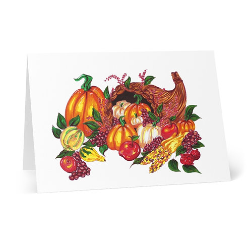 Fall Harvest, Greeting Cards (8 pcs)