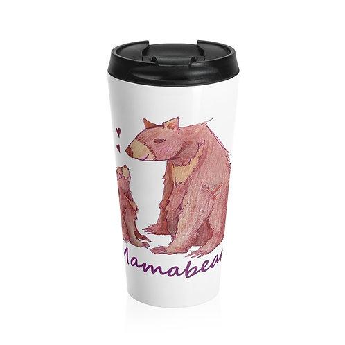 Mamabear, Stainless Steel Travel Mug