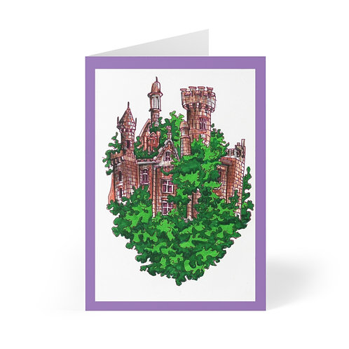 Castle, Greeting Cards (8 pcs)