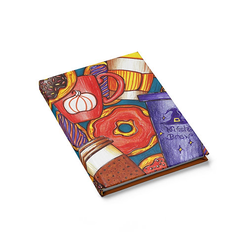 Coffee and Donuts, Sketchbook, Blank Journal
