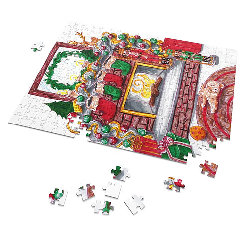 Merry and Bright Puzzle, 252 Pieces