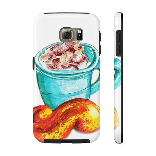 Latte, Case Mate Tough Phone Cases