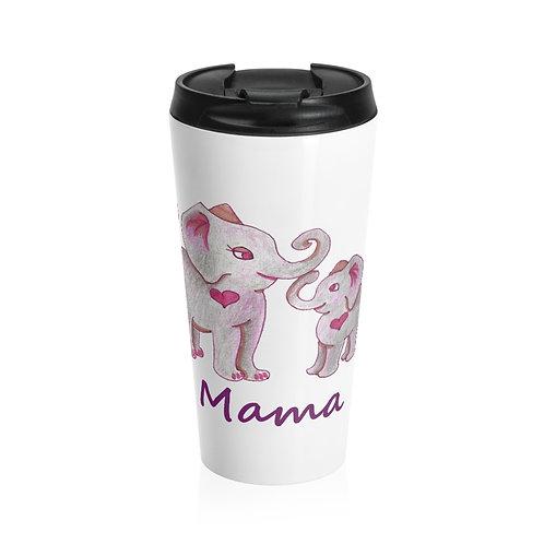 Mama Ella, Stainless Steel Travel Mug