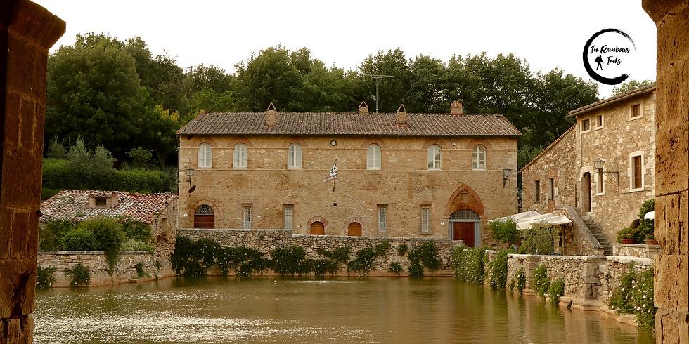 Bagno Vignoni al Tramonto