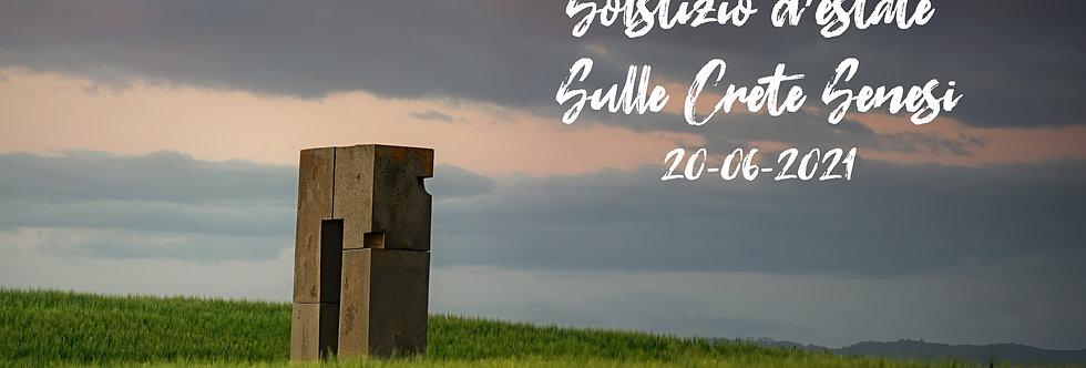20 Giugno_Solstizio d'estate Sulle Crete Senesi