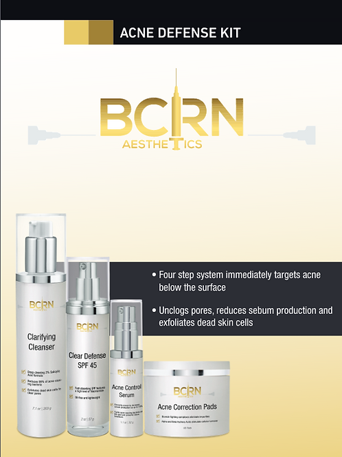 BCRN Acne Defense Kit