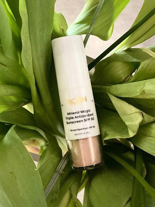 BCRN Mineral Magic Triple Antioxidant Sunscreen SPF 50