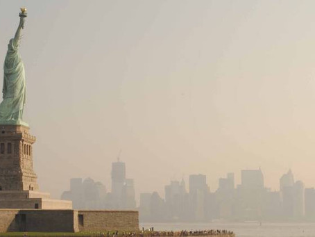 Air quality in NYC plummets due to smoke from 2,500 miles away