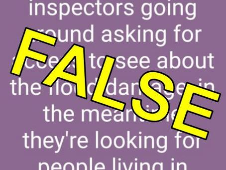 False Rumors Regarding DOB Inspectors