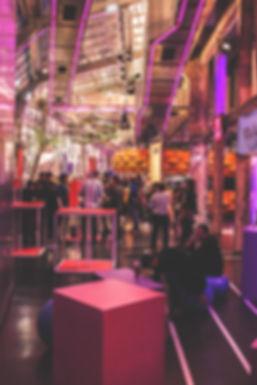ENtrée de l'événement Nantais Meetup. Logistique et Création de l'agecementdu projet Objecif Nantes à la Stereolux.