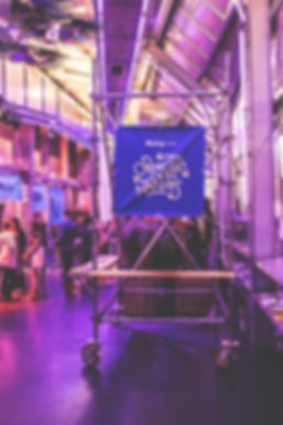 """Détail de la scénographie du Studio AA de l'événement """"Objectif Nantes"""" par Meetup"""