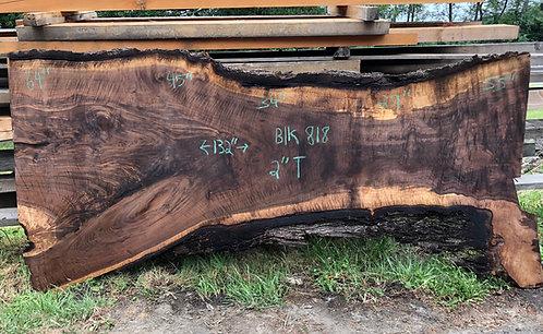"""black walnut 818 (2""""x29-64""""x132"""")"""