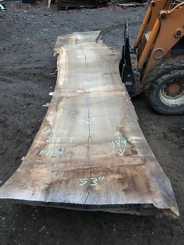 """oak 310 (2.5""""x39-53""""x 189"""")"""