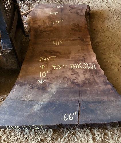"""Black Walnut 0121 (3.25""""x41-66""""x10')"""
