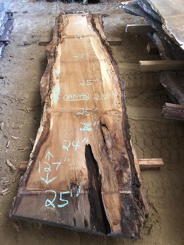 """Oak 442 (2.5""""x17-25""""x127"""")"""