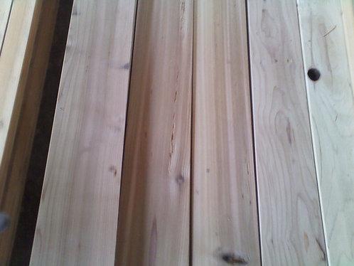 2x6 Cedar Decking-seconds