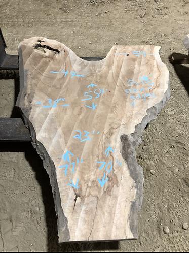 "Maple 511 (1.75""x23-54""x58-77"") flattened"