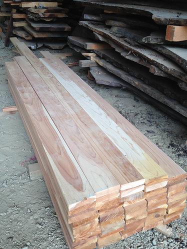 Clear cedar 2x6 decking
