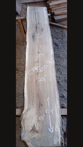 "Oak 4000 (1.625""x24-25""x154"") surfaced"