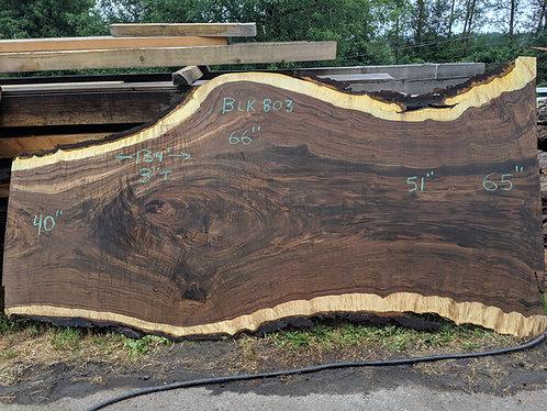 """black walnut 803 (3""""x40-66""""x11')"""