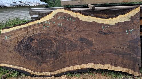 """black walnut 802 (3""""x36-61""""x11')"""