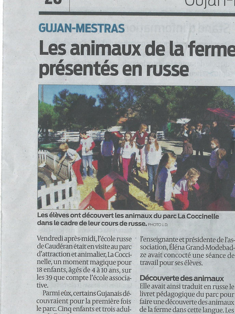 article sud ouestcoccinelle 27.10.2015.j