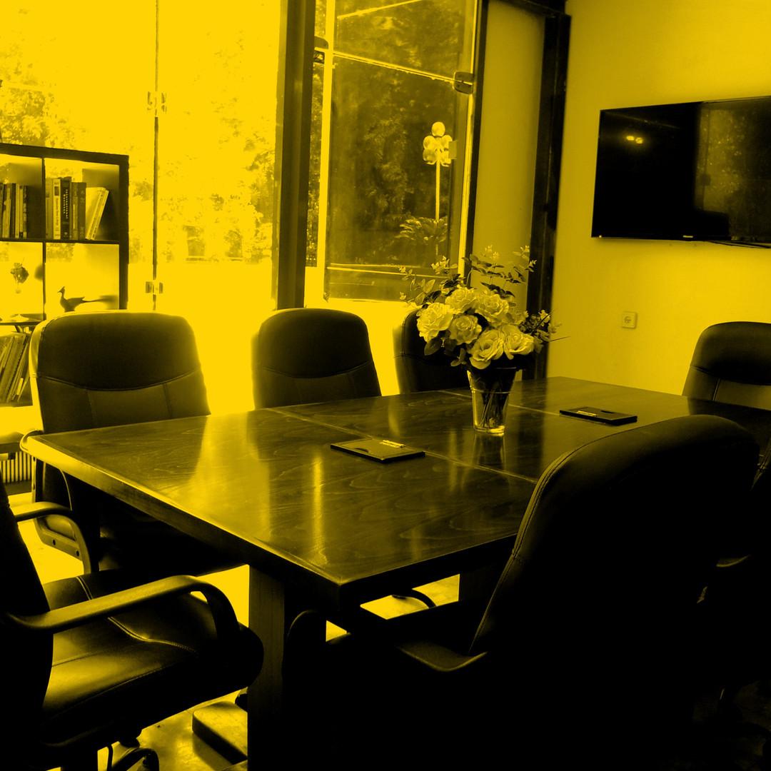 חדר לקיום מפגשים ופגישות