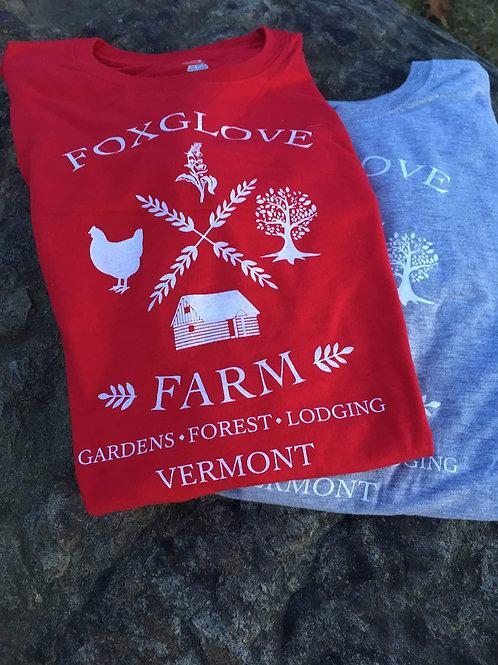 Foxglove Farm Cotton T-Shirt Unisex