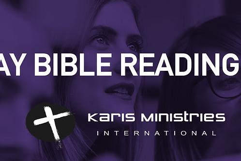 40 Day Bible Reading Plan