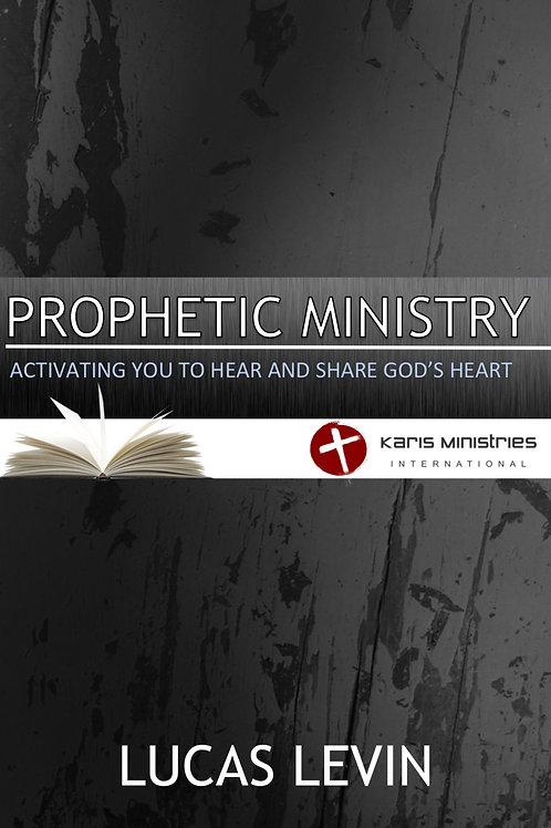 Prophetic Ministry CD Series
