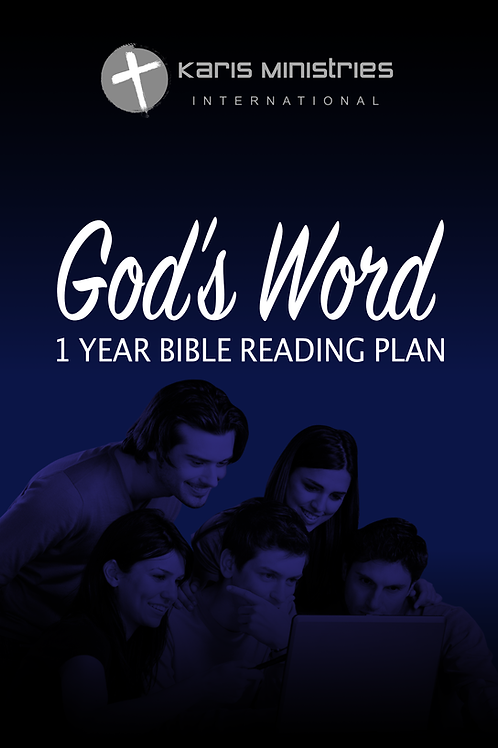 God's Word- Year Long Bible Reading Plan