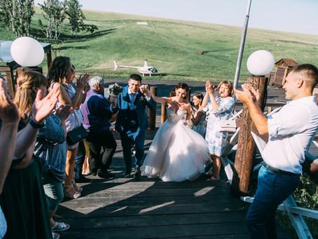 Свадьба за городом?