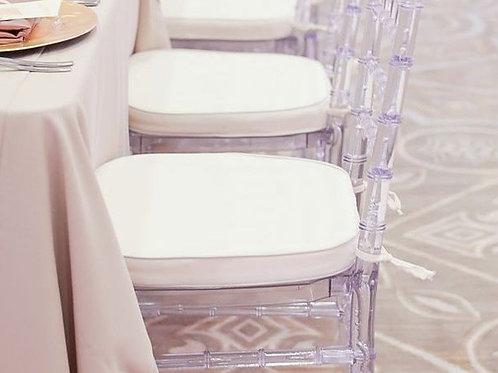 Подушка на стул (белая)