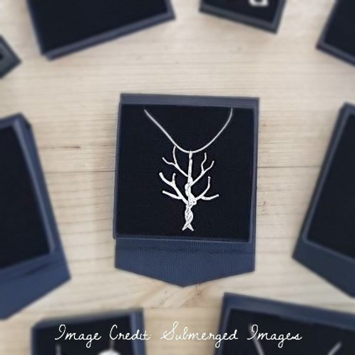 Entwined Tree Pendant