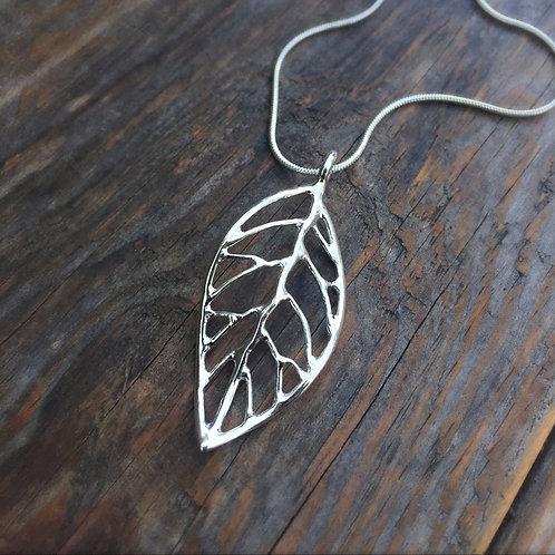 Large Leaf Pendant