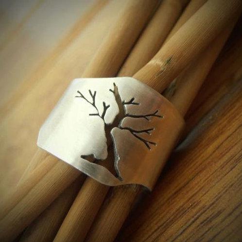 Abstract Bonsai Ring