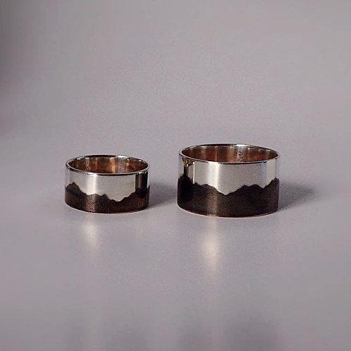 Married Metal Mountain Ring