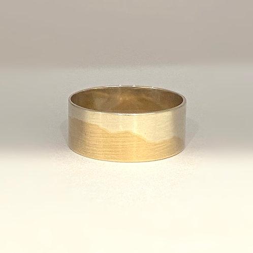 9ct Married Metal Mountain Ring