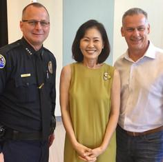 HB Public Safety 2019- Chief Handy & OC Supervisor Michelle Steel