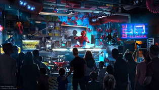 First Look at WEB SLINGERS: A Spider-Man Adventure Coming to Avengers Campus at Disneyland Resort