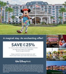 A Magical Stay with a Magical Offer for Disney  World!