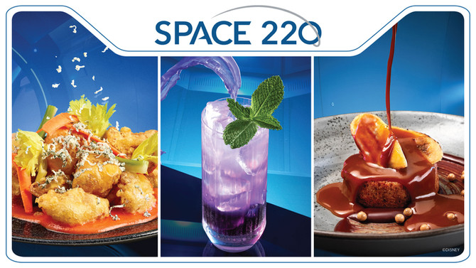 Space 220 Restaurant at EPCOT: More Details and Menus Revealed