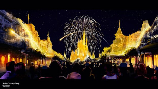 An All-New Spectacular at Magic Kingdom Park – Debuts Oct. 1 for Walt Disney World 50th Anniversary