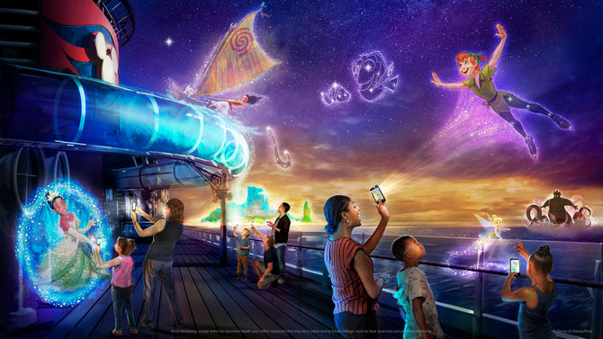 Disney Wish to Debut First-of-its-Kind Interactive Experience, Disney Unchartered Adventure