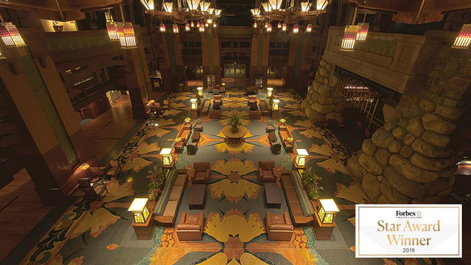 Disney's Grand Californian Hotel & Spa Earns Coveted Forbes Travel Guide 2019 Star Award