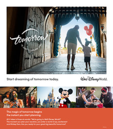 Start Dreaming Today of a Disney World Vacation!