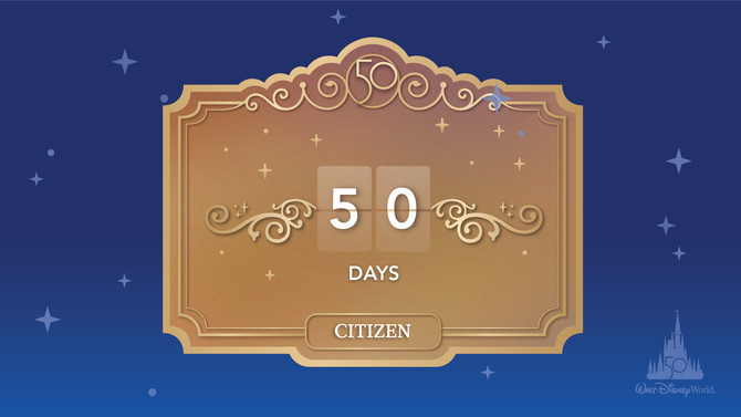 The Magic Is Calling: It's Just 50 Days Until the 50th Anniversary of Walt Disney World Resort Begin