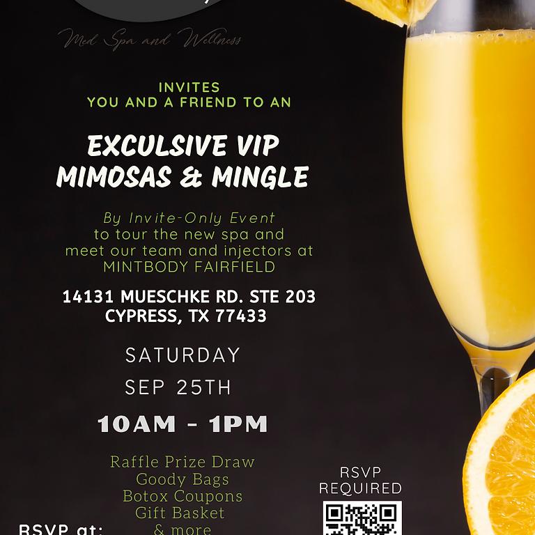 Mimosas & Mingle